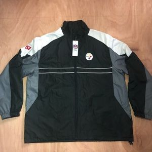 Vintage Sports Illustrated Steelers Windbreaker
